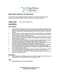 Radiology Tech Resume Retail Resumes Examples 1205 Http Topresume Info 2015 01 09