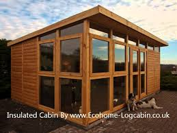 Garden Summer Houses Scotland - how to insulate your shed garden room home office outdoor