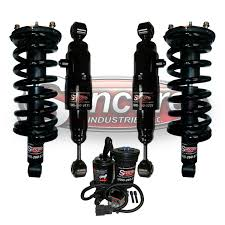 nissan armada air suspension quick complete struts air shock absorbers and air compressor