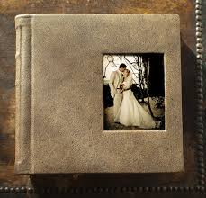 vintage photo album out of africa inspired wedding album à la carte albums