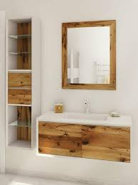 Wooden Bathroom Furniture Marvelous Wooden Bathroom Furniture With Beautiful Weathered Wood