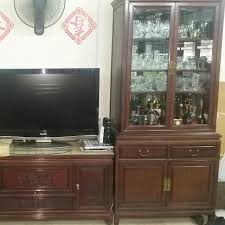 Rosewood Display Cabinet Singapore Oriental Rosewood Tv Console And Display Cabinets Furniture