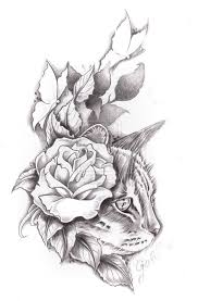 thigh tattoo sketches best 25 cat tattoos ideas only on pinterest simple cat tattoo