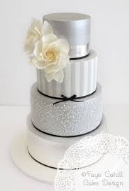 silver wedding cakes silver wedding cakes idea in 2017 wedding