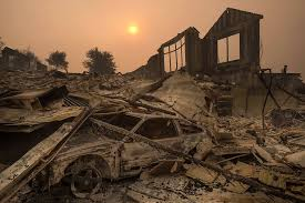 Wildfire Sacramento Area by Catastrophic Event Deadly California Fires Explode Again