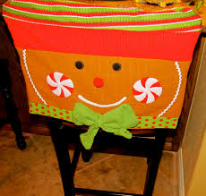 christmas bar stool covers found these cute chair covers for the