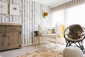 chambre theme chambre bébé thème forêt une déco et originale bébé