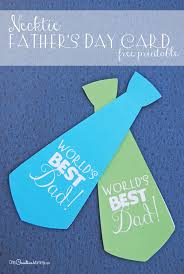 fathers day cards with a necktie s day card