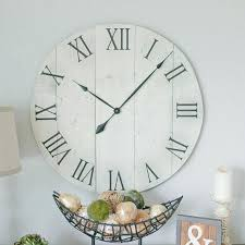 big wooden wall clock rustic wall clock big wood wall clocks