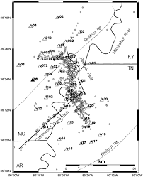 relocation of earthquakes in the new madrid seismic zone