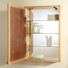 Bathroom Mirror With Medicine Cabinet by Unfinished Wood Medicine Cabinet With Mirror 12 Outstanding For