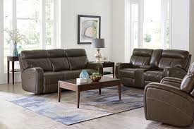 Loveseat Recliner With Console Chapin Furniture Beaumont Power Loveseat With Console Truffle