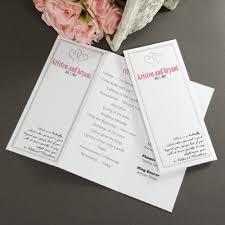 Wedding Programs Trifold Wedding Invitations Diy In Trending Unique Favors U0026 Gift Ideas