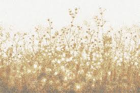 gold flowers gold flowers tile pattern wildflower goldenrod by artaic