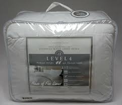 Black Goose Down Comforter Charter Club Level 4 Vail European White Down King Comforter