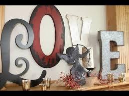 Valentine Day Decorations Australia by Diy Love Letters Valentine U0027s Day Decorations Showmecute Youtube