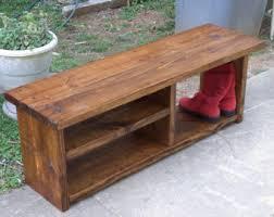 boot cubby rustic bench shoe bench entryway hallway mudroom