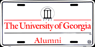 uga alumni car tag the of alumni license plate uga license