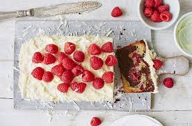 raspberry and double chocolate marble cake recipe baking ideas