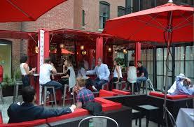 Outdoor Patio Bar Boston Restaurants Cinquecento Debuts Shipping Container Patio Bar