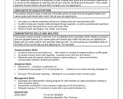 management skills for a resume examples of summary on resume business plan templates sample