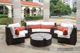 Rattan Curved Sofa Tropez Seating And Dining Patio Furniture By South Sea