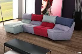 magasin de canapé en belgique canapé modulable cuir tissu style contemporain