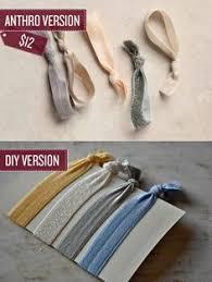 creaseless hair ties elastic nocrease hair ties matching headbands by bashoredesigns