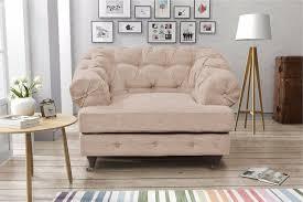 Linen Chesterfield Sofa Linen Chesterfield Sofas 1 Seater Sofa Armchair Grey