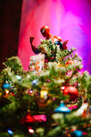 marvel comics christmas tree design by kristeen labrot events