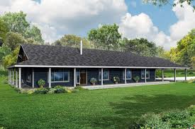 one story wrap around porch house plans one story ranch style house plans with wrap around porch and
