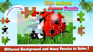 kids animal jigsaw free puzzle android apps on google play