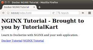 tutorial docker nginx docker nginx dockerize nginx with web application