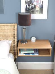 Bedroom Nightstand Ideas Bedroom Furniture Floating Side Table Table For Bed Modern Wall