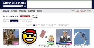 knowyourmeme an encyclopedia of funny internet memes