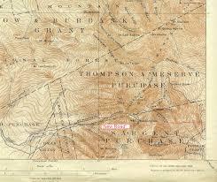 Mt Washington Trail Map by Almost Mt Washington
