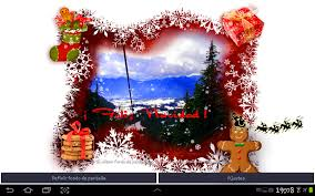 Christmas Tree Picture Frames Christmas Photo Live Wallpaper Android Apps On Google Play