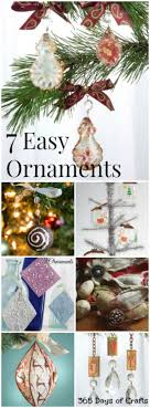 easy ornaments to make 365 days of crafts diy and