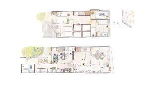 Japanese Traditional House Floor Plan by Kanazawa Tourism Guest House Shiro In Kanazawa Japanese Hostel