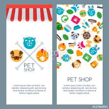 zoo brochure template pet shop zoo or veterinary banner poster or flyer template