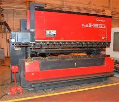 amada fbd 1253nt 138 ton 7 axis hydraulic upacting cnc press brake