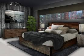 mens bedrooms young mens bedroom decorating ideas with clasic wood furniture bed