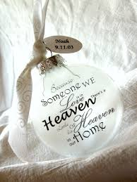 memorial ornaments heaven in our home angel memorial ornament keepsake by rychei