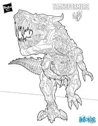 grimlock coloring pages hellokids com