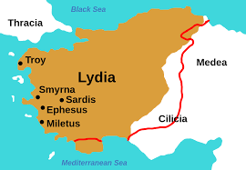 Greece Turkey Map by Lydia Wikipedia