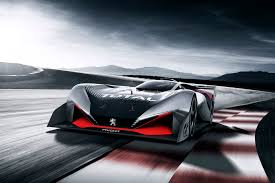 latest peugeot peugeot reveals l750 r hybrid vision gran turismo racing car