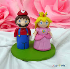 mario cake toppers mario wedding cake topper atdisability