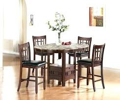 marble high top table granite dining table set getlaunchpad co