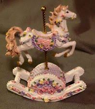 Carousel Horse Centerpiece by Carousel Horse Music Box Ebay