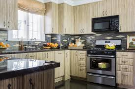 kaboodle kitchen designs outstanding zebra wood cabinets kitchen with contemporary none